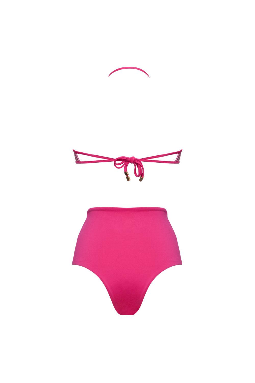 Bikini a fascia con slip alto 2018